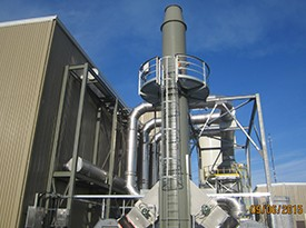 Industrial Fan Exhaust Stack Silencer System
