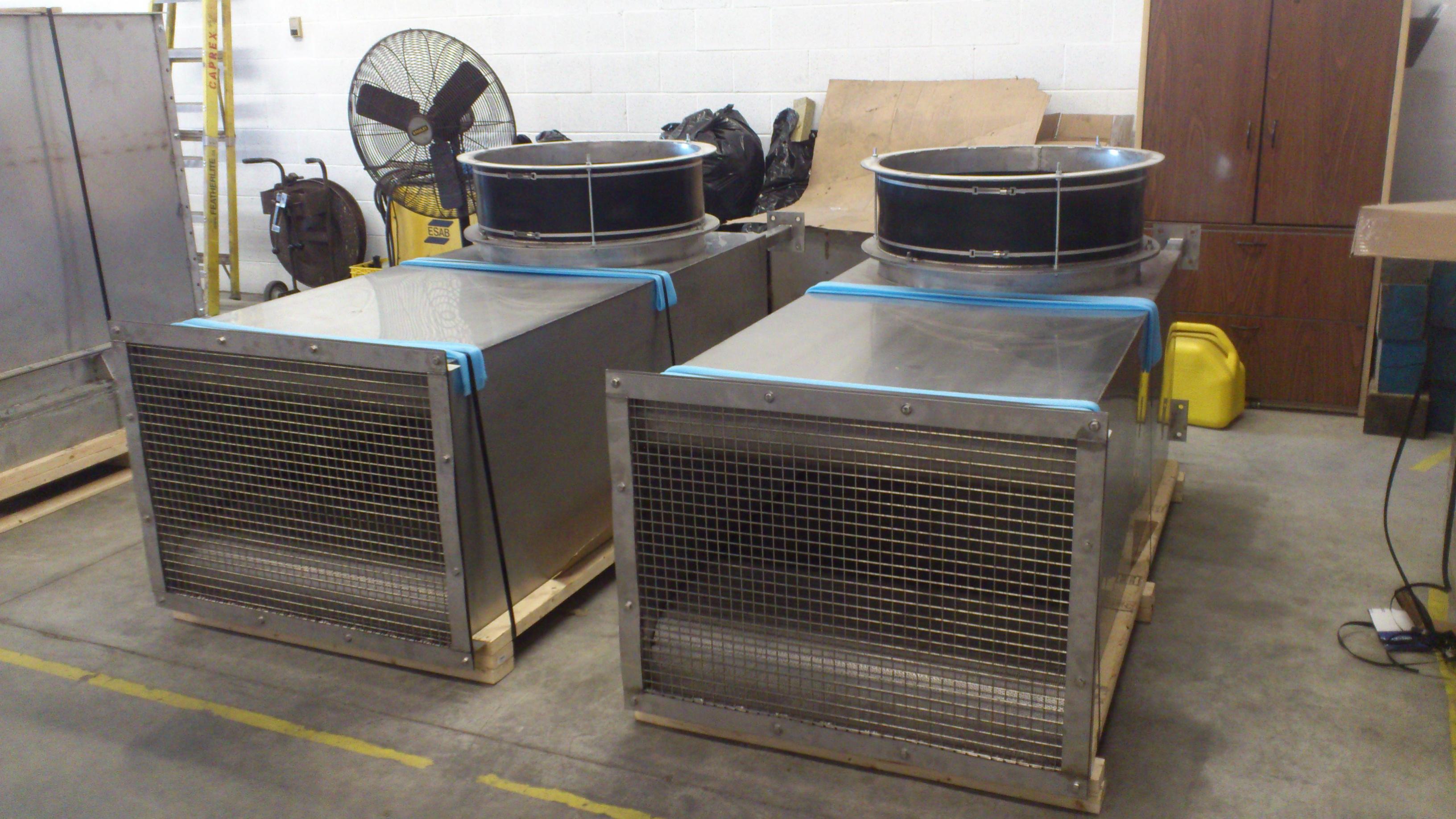 Fan Intake Silencer Industrial Noise Control
