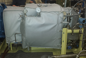 Pump Acoustic Blanket Noise Control Blanket Insulation